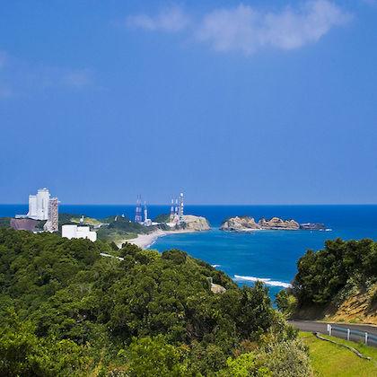 Immagine della base di Centro spaziale di Tanegashima