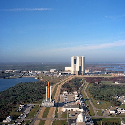 Immagine della base di John Fitzgerald Kennedy Space Center