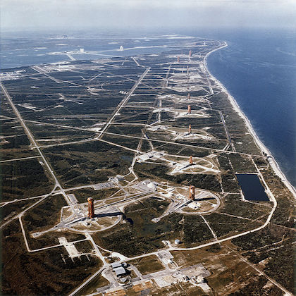 Immagine della base di Cape Canaveral Air Force Station