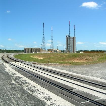 Immagine della base di Centre spatial guyanais