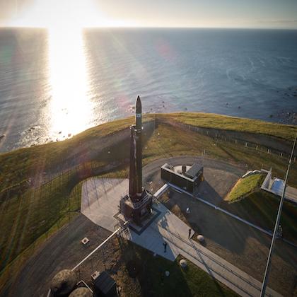 Immagine della base di Rocket Lab Launch Complex 1
