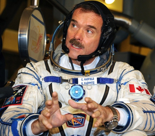 Chris Austin Hadfield, astronauta