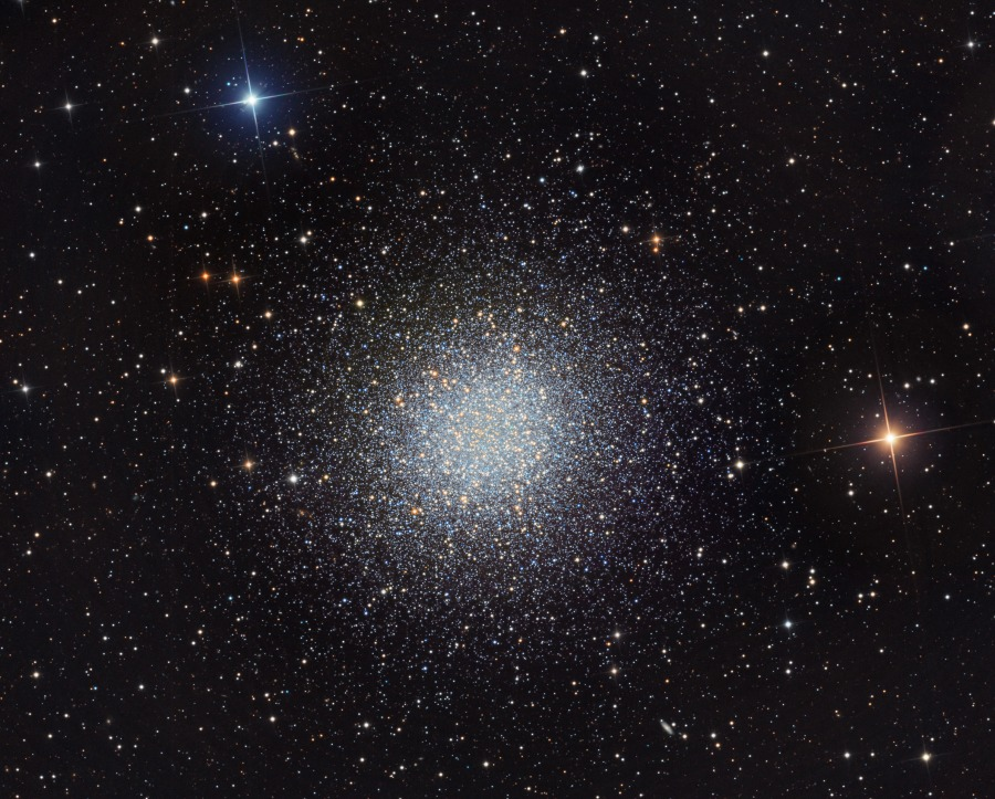 Ammasso globulare M13 in Ercole. Crediti Martin Pugh.