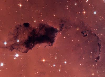 Un globulo di Bok osservato dal telscopio spaziale Hubble. Crediti HST/NASA/ESA