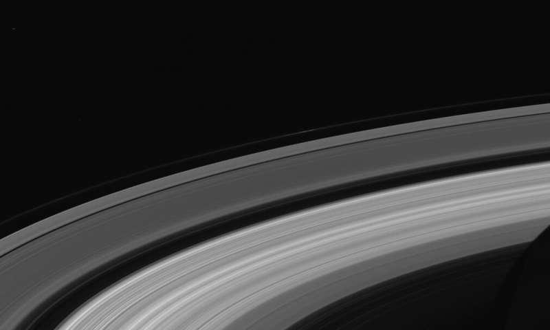 Anelli di Saturno ripresi dalla missione Cassini. Crediti NASA/Cassini