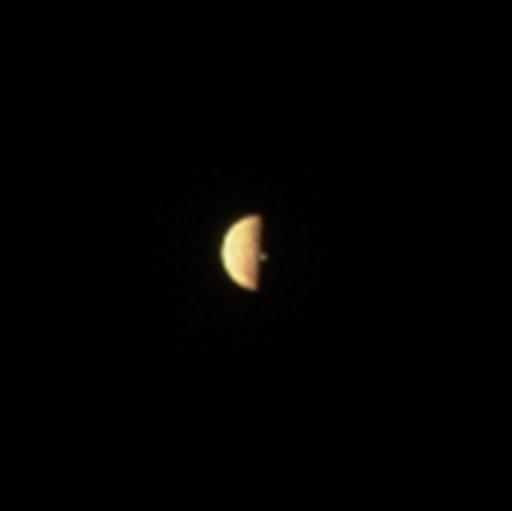Io ripreso il 21 dicembre 2018 da Juno. Crediti NASA