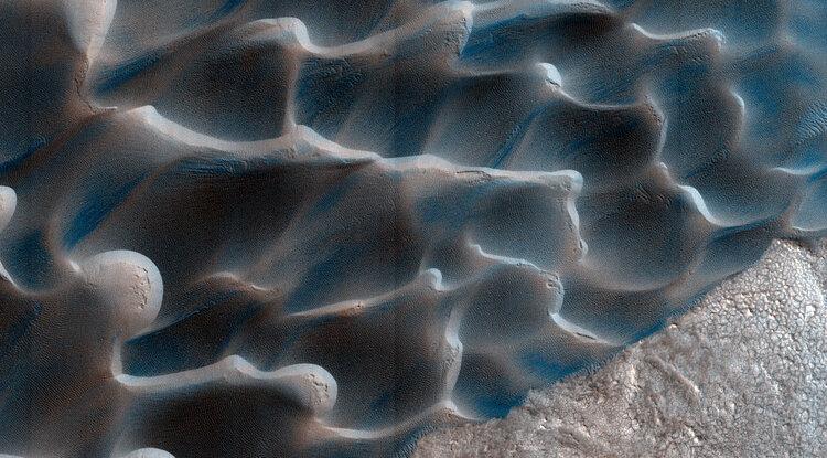 Dune marziane. Crediti NASA/HiRISE