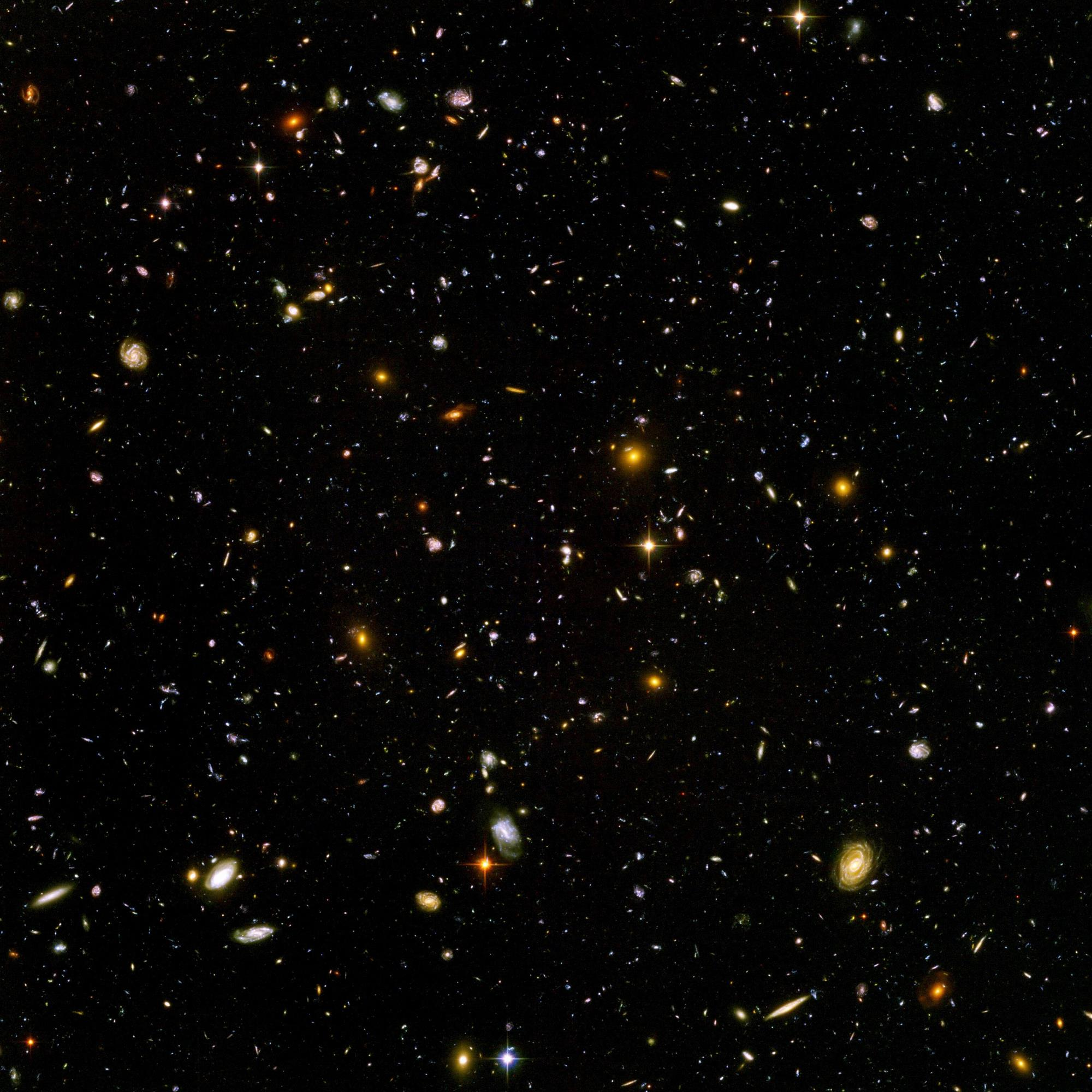 Ultra Deep Field di Hubble Space Telescope. Crediti HST/ESA/NASA